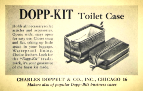 The Of A Dopp Kit Copper